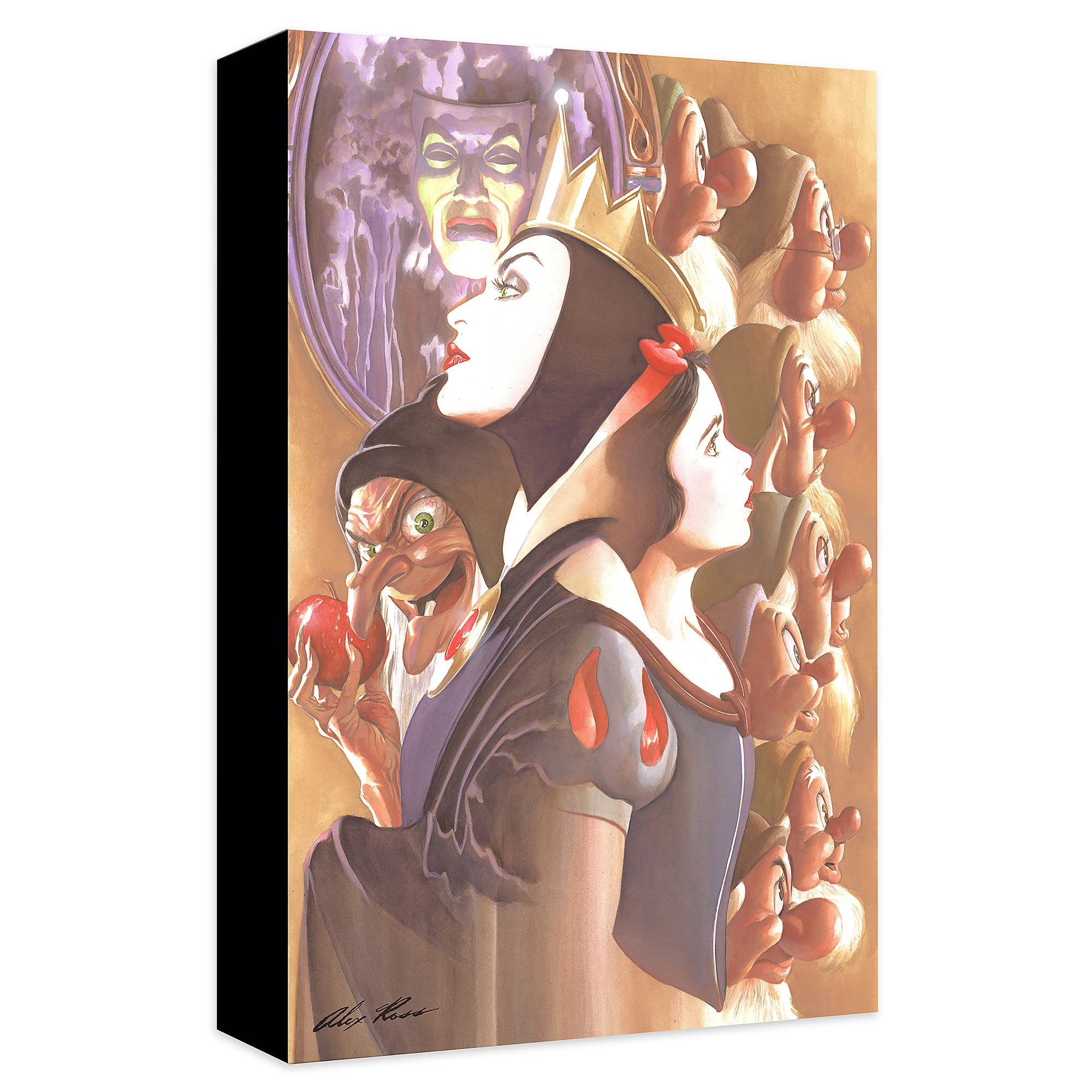 Snow White ''Once There Was a Princess'' Giclée on Canvas by Alex Ross