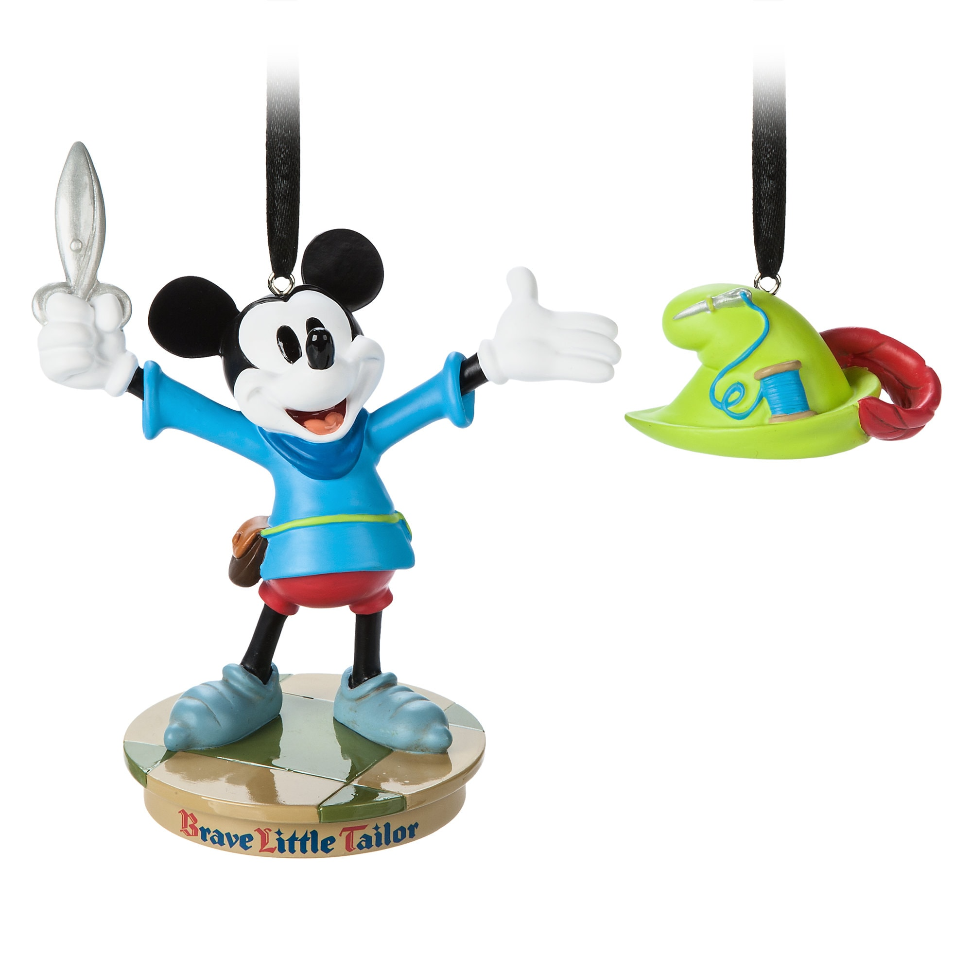 Mickey Mouse Through the Years Sketchbook Ornament Set - The Brave Little Tailor - April - Limited Release