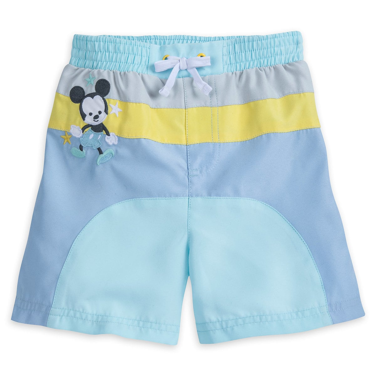 1f12647886 Product Image of Mickey Mouse Swim Trunks for Baby # 1