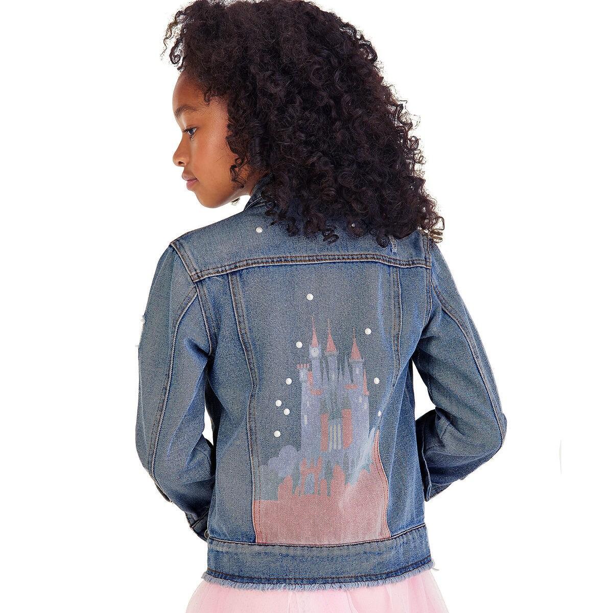 Cinderella Denim Jacket For Girls Shopdisney