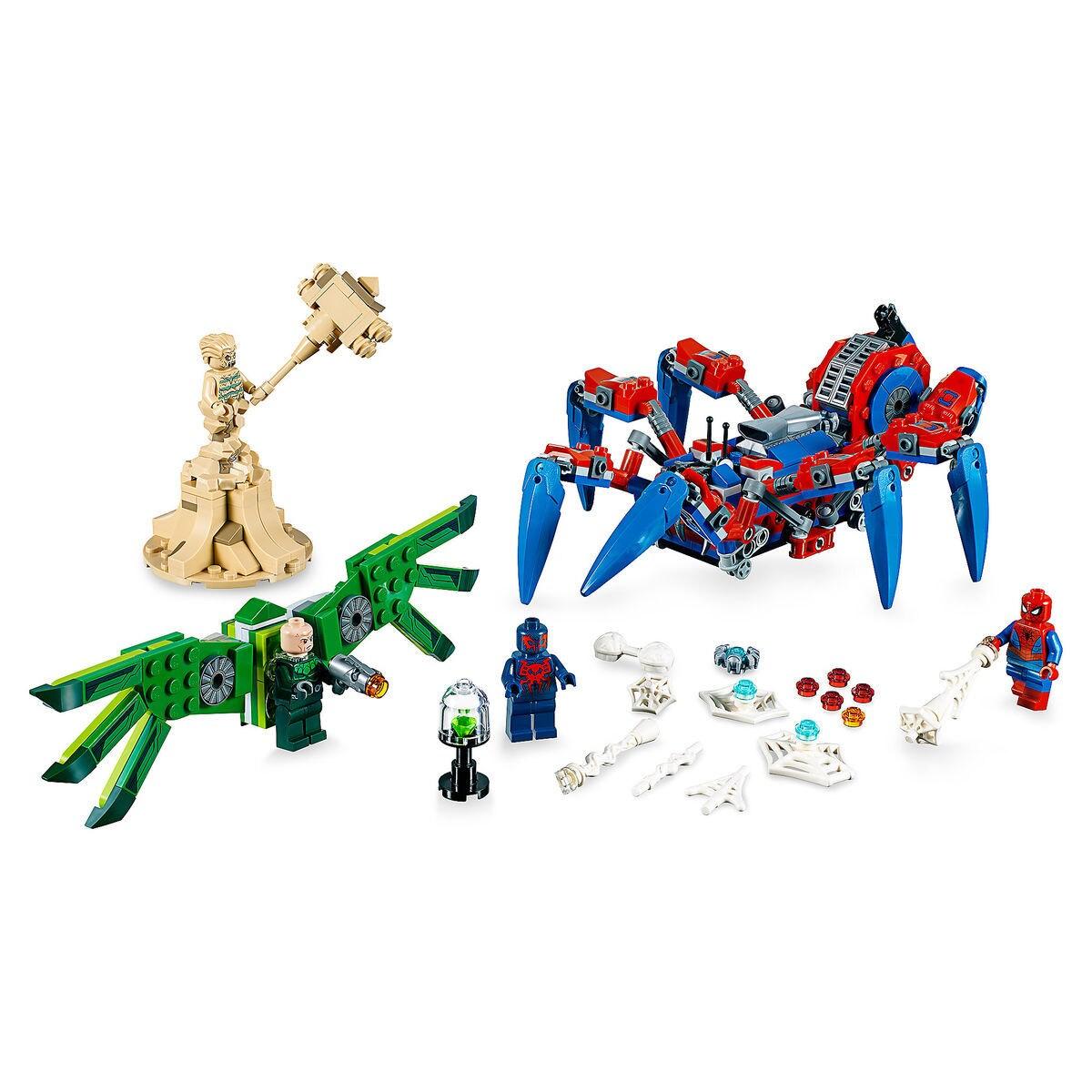 spider man s spider crawler playset by lego shopdisney