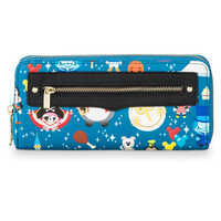 Image of Disney Parks Minis Zip-Around Wristlet Wallet by Loungefly # 2