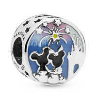 Image of Mickey and Minnie Mouse Fireworks Charm by Pandora Jewelry # 1