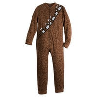 Chewbacca Costume One-Piece PJ for Adults - Star Wars