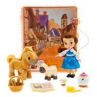 Image of Disney Animators' Collection Belle Mini Doll Play Set # 2