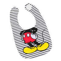 Image of Mickey Mouse Bodysuit, Bib, and Beanie Set for Baby # 3