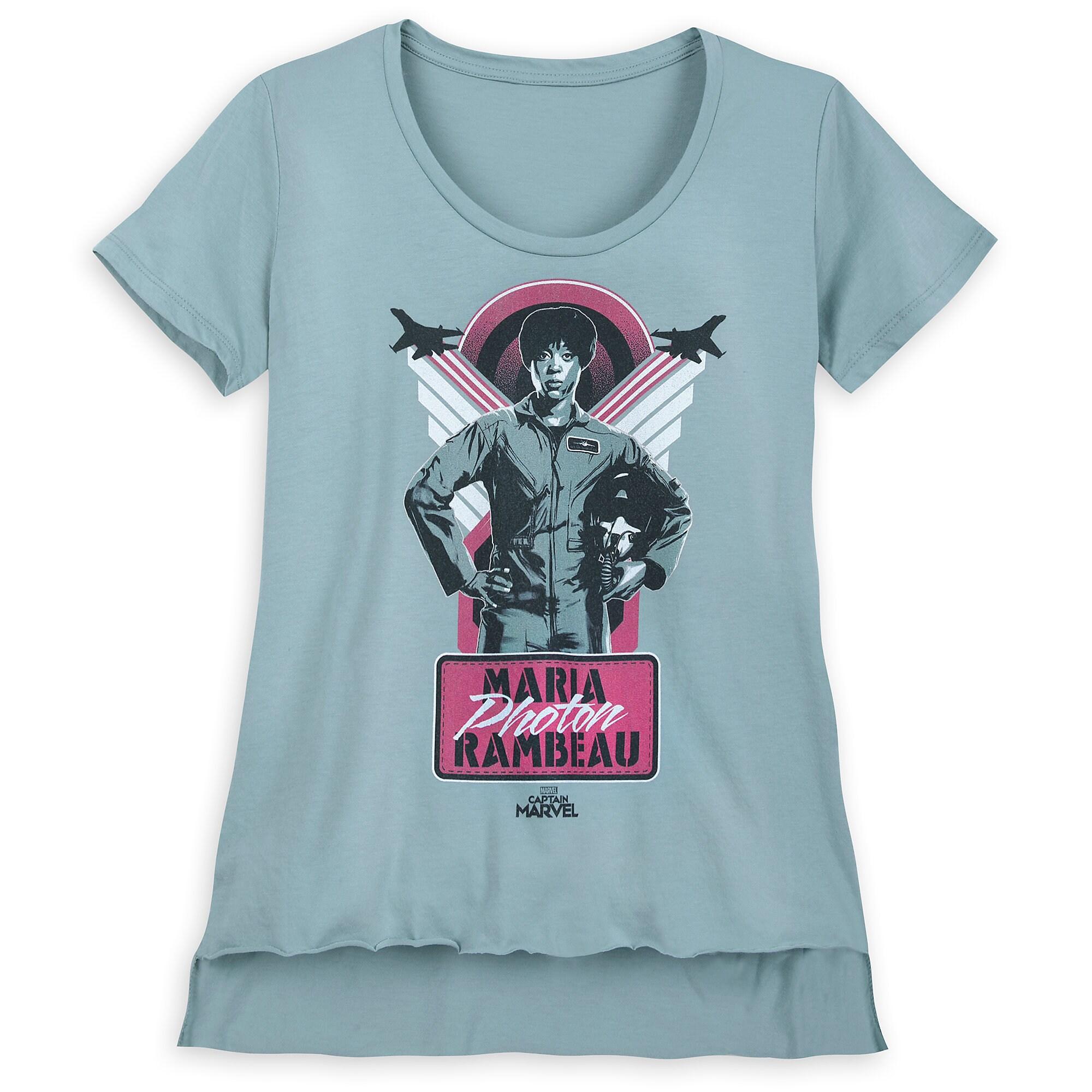 682fa02217c Maria photon rambeau shirt for women marvel captain marvel jpg 1200x1200 Captain  marvel shirt