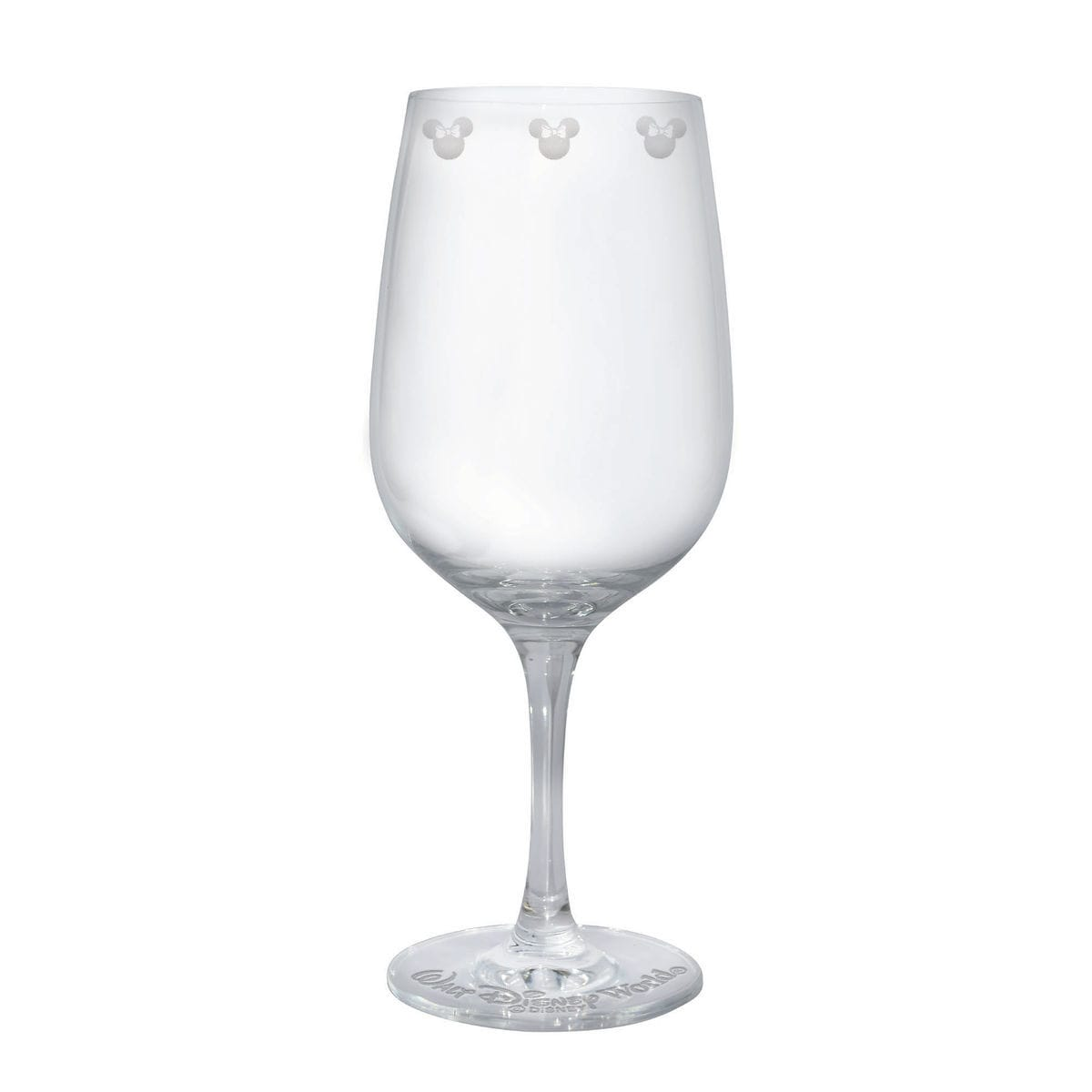 Minnie Mouse Icon Wine Glass by Arribas - Personalizable | shopDisney