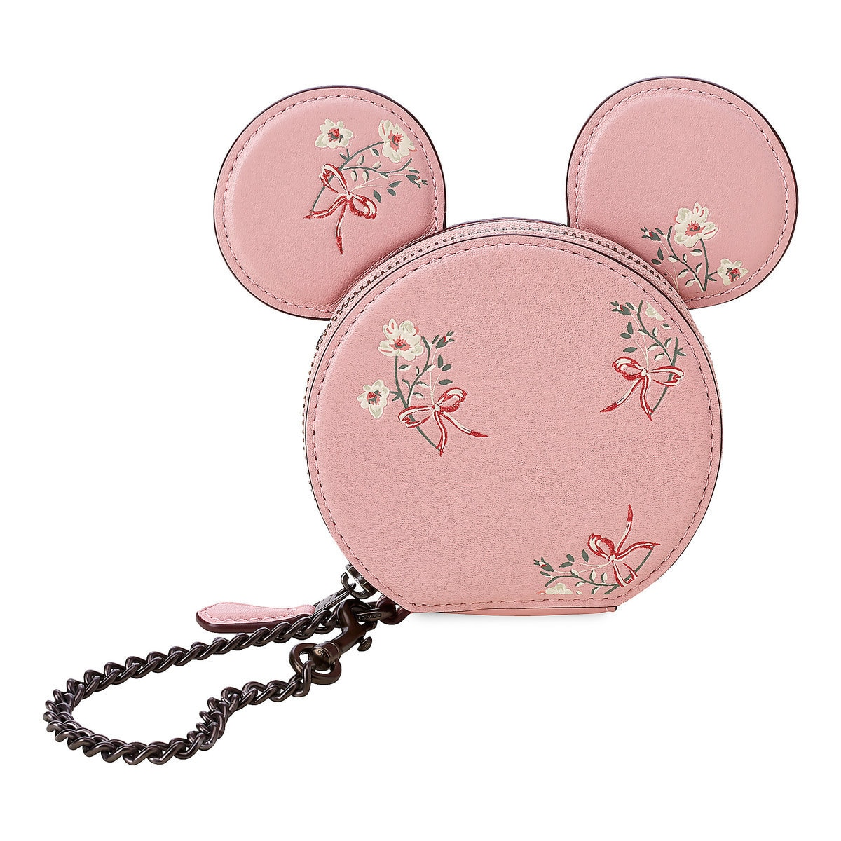 sports shoes 626d3 9c5fe Minnie Mouse Floral Coin Purse by COACH - Pink