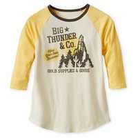 Image of Big Thunder Mountain Raglan T-Shirt for Women # 1