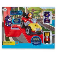 Image of Mickey Mouse Deluxe Racetrack - Mickey and the Roadster Racers # 3