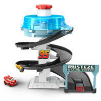 Image of Cars Rust-Eze Spinning Raceway Playset # 1