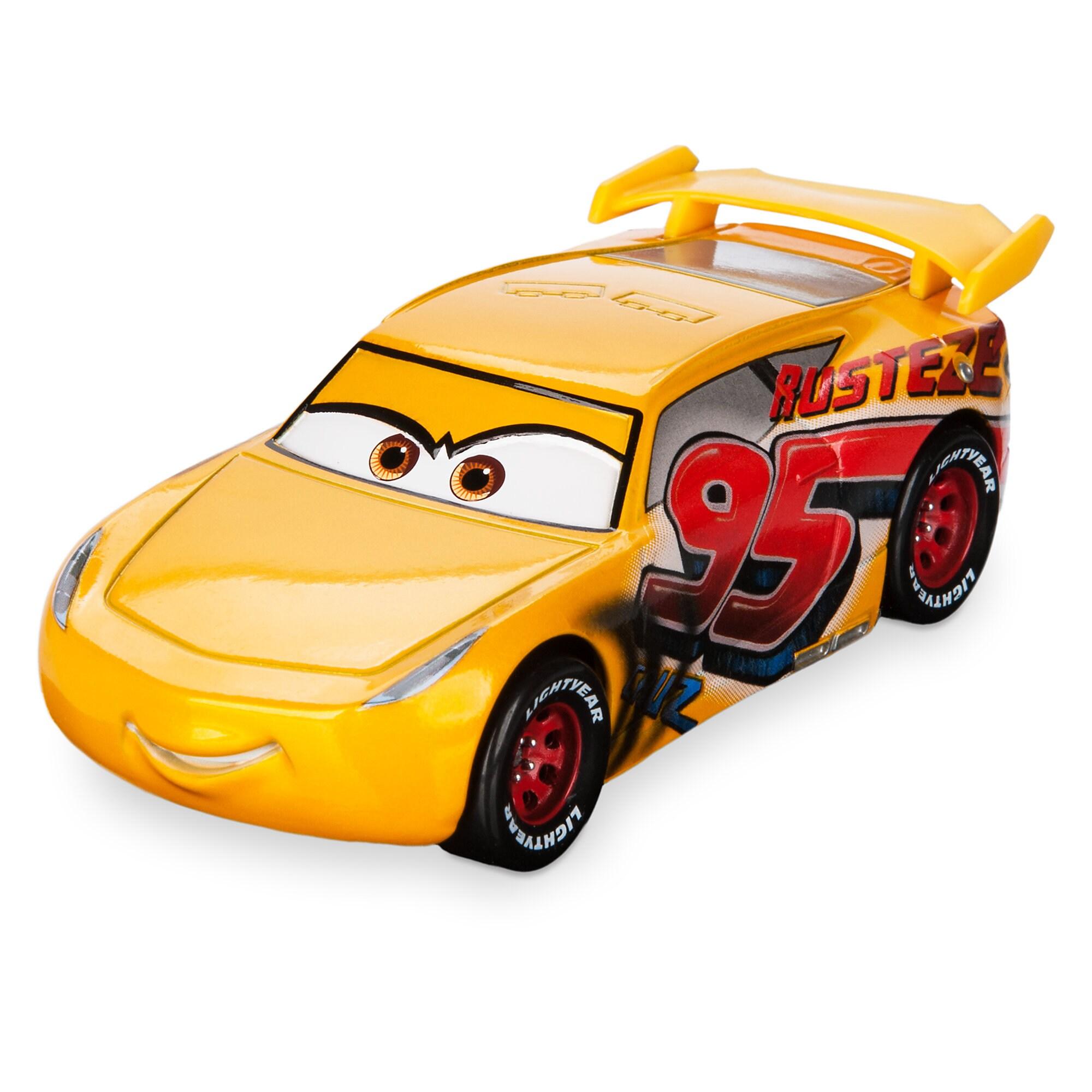 Track Damage Cruz Ramirez Die Cast Car - Chaser Series - Cars 3 - Limited Release