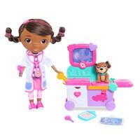 Doc McStuffins: Magic Talking Doc & Care Cart Play Set