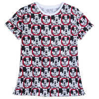 Image of Mickey Mouse Club Allover Print T-Shirt for Women # 1