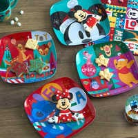 Image of Mickey Mouse and Friends Holiday Cheer Plate Set - 4-Pc. # 4