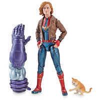 Image of Marvel's Captain Marvel (Bomber Jacket) Action Figure - Legends Series - Captain Marvel # 1