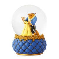 Image of Beauty and the Beast Couture de Force Snowglobe by Enesco # 2