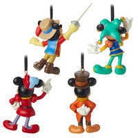Image of Mickey Mouse Through the Years Mini Ornament Set 3 # 2