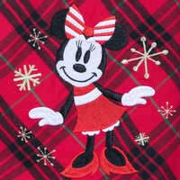 Image of Minnie Mouse Holiday Plaid Nightshirt for Girls - Personalizable # 4