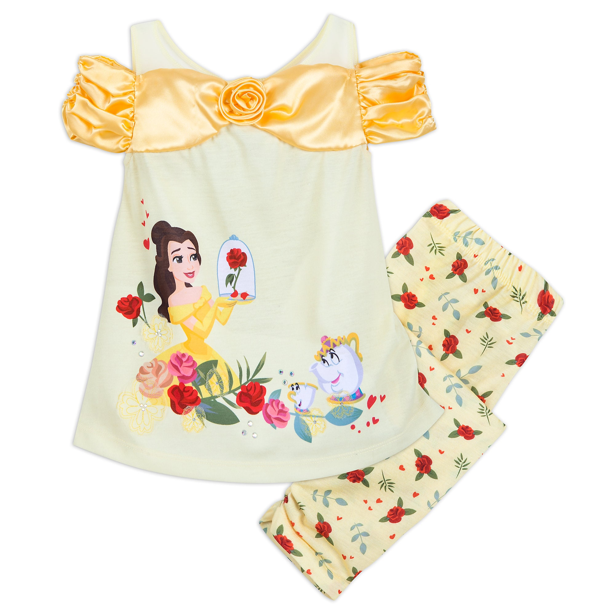Belle Deluxe PJ Set for Kids