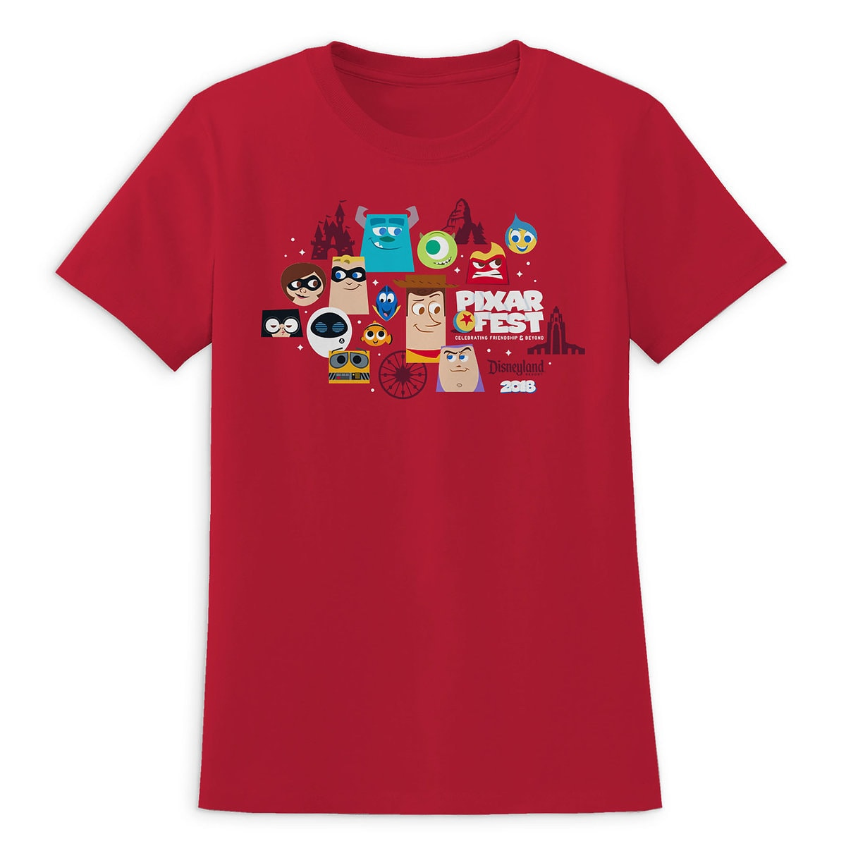 Product Image of PIXAR Fest 2018 T-Shirt for Women - Disneyland - Limited Release # 1
