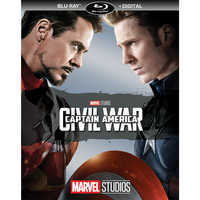 Image of Captain America: Civil War Blu-ray + Digital Copy # 1