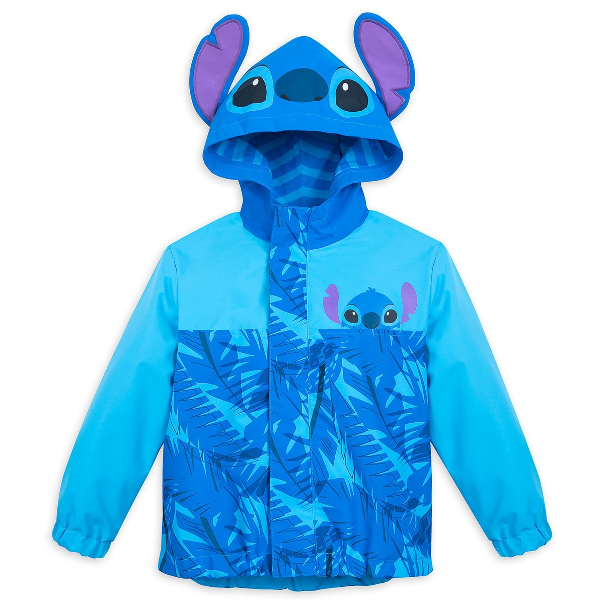 4e1c5aee9 Product Image of Stitch Packable Rain Jacket and Attached Carry Bag for Kids  # 1