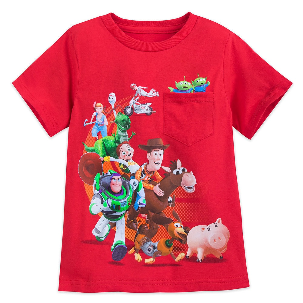Toy Story 4 Cast T-Shirt for Boys Official shopDisney