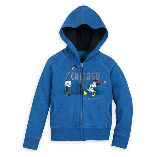 Minnie Mouse Hoodie for Girls - Chicago