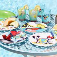 Image of Mickey and Minnie Mouse Plate Set - Disney Eats # 4