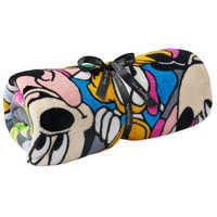 Image of Mickey Mouse and Friends Throw Blanket by Vera Bradley # 1