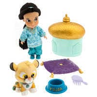 Image of Disney Animators' Collection Jasmine Mini Doll Play Set # 1