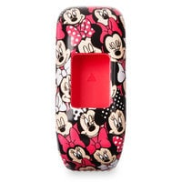Image of Minnie Mouse Garmin vivofit jr. 2 Accessory Stretchy Band # 1