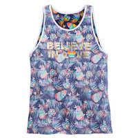 Image of Rainbow Disney Collection Mickey Mouse Tank Top for Adults # 1