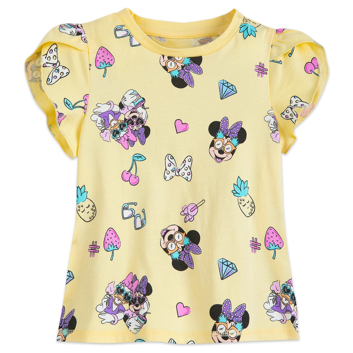 61a90bd1 Product Image of Minnie Mouse and Daisy Duck T-Shirt for Girls # 1