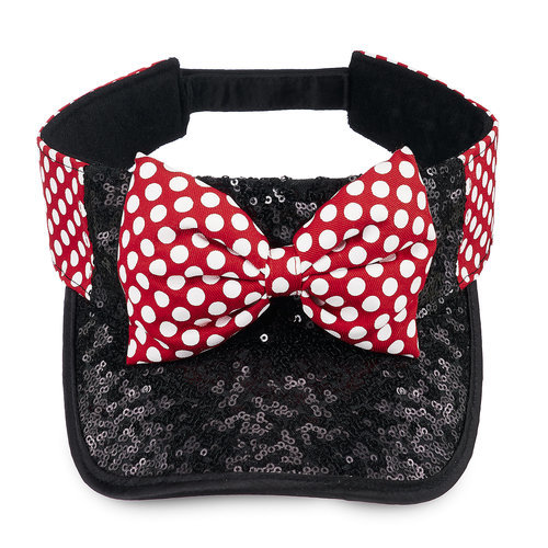 Minnie Mouse Sequin Visor For Adults Shopdisney