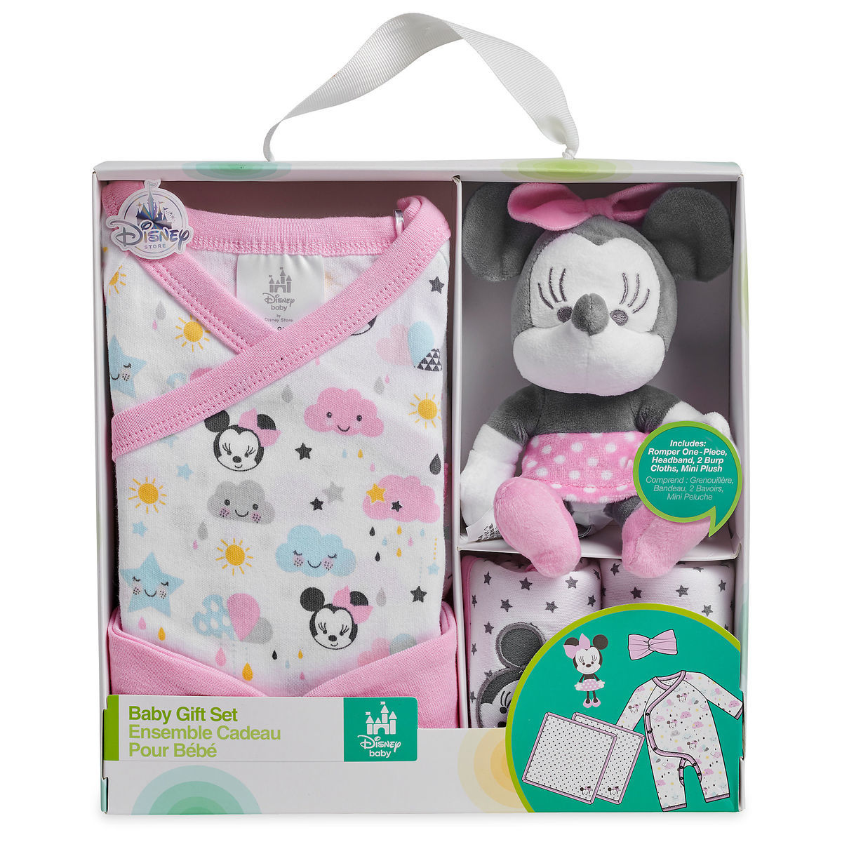421d3eb35 Minnie Mouse Gift Set for Baby