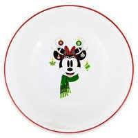 Image of Minnie Mouse Holiday Cereal Bowl # 1