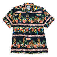 Image of Enchanted Tiki Room Silk Shirt for Men by Tommy Bahama # 1