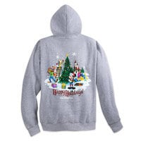 Mickey Mouse and Friends Holiday Hoodie - Walt Disney World - Adults