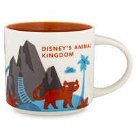 Image of Disney's Animal Kingdom Starbucks YOU ARE HERE Mug # 1