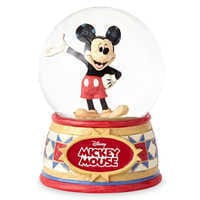 Image of Mickey Mouse ''The One and Only'' Snowglobe - Jim Shore # 3