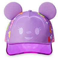 Image of Minnie Mouse Ears Baseball Cap for Girls # 1