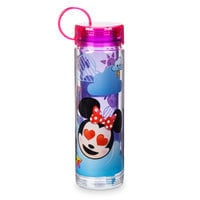 Mickey Mouse and Friends Emoji Water Bottle with Stickers