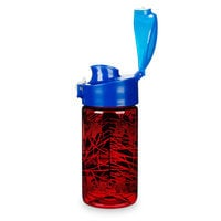 Image of Spider-Man Flip-Top Water Bottle # 2