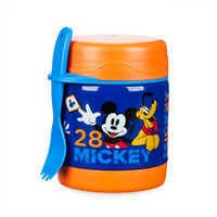 Image of Mickey Mouse Hot and Cold Food Container # 1