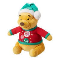 Image of Winnie the Pooh Holiday Plush - Medium # 1