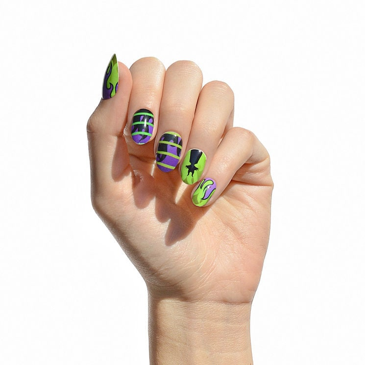 Maleficent Nail Wraps - NCLA