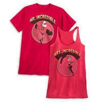 Image of Incredibles Valentine's Day Couples Shirt Collection for Adults # 1